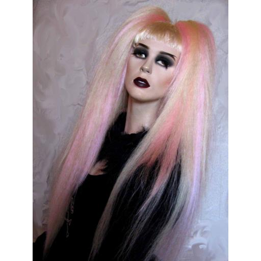 Warlocks in Platinum Blonde and Baby Pink