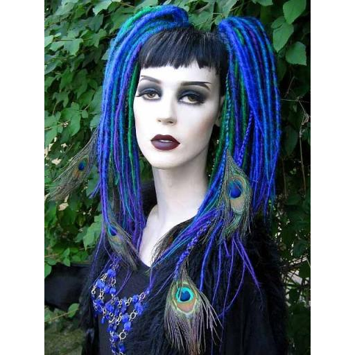 Peacock Dreads
