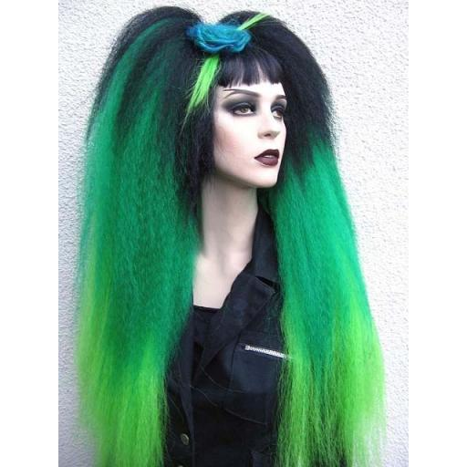 Green Transition Warlock Hair Falls