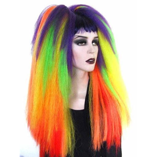 Warlock Hair Falls Rainbow Transition