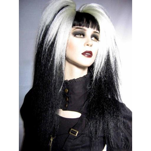 Transition Warlock Hair Falls White to Black