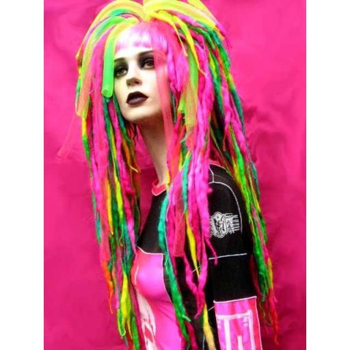 Truely Neon Cyberlox Hair Falls