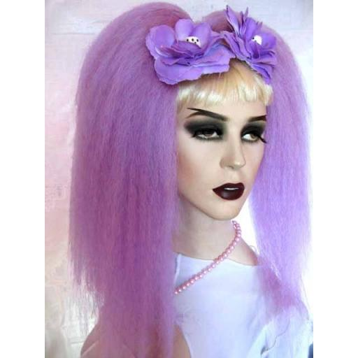 Bust Length Warlock Hair Falls in Lilac