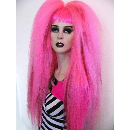 Warlock Hair Falls Hot Pink Baby Pink Burgundy
