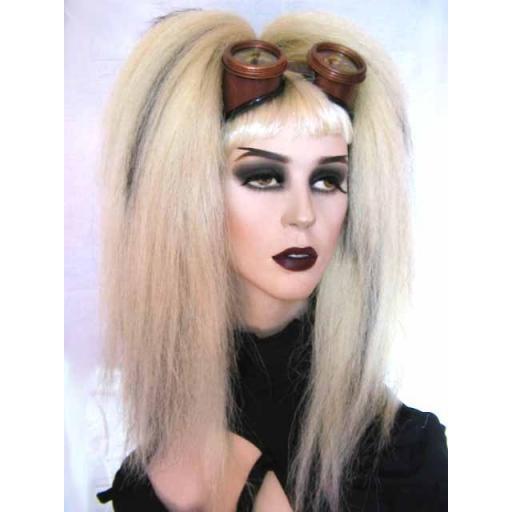 Bust Length Warlock Hair Falls Blonde Subtle Black
